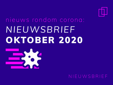 Nieuwsbrief oktober 2020