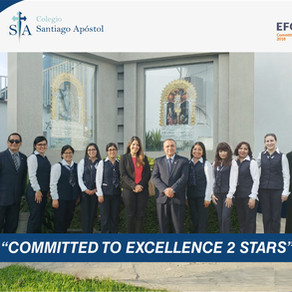 """""""COMMITED TO EXCELLENCE 2 STARS"""""""