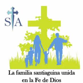 ¡CRISTO HA RESUCITADO! Y LA FAMILIA SANTIAGUINA LO CELEBRA ASÍ...
