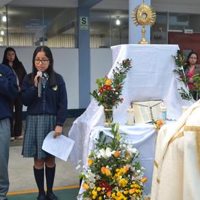 CELEBRACIÓN DEL CORPUS CHRISTI PRIMARIA ALTA Y SECUNDARIA
