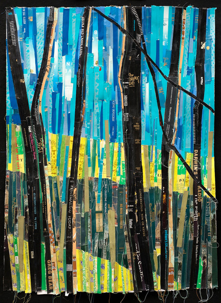 """Summer Hike 52""""X42"""" (sold)"""