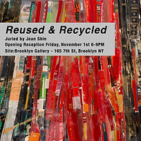 Reused _ Recycled Site-Brooklyn Artist P