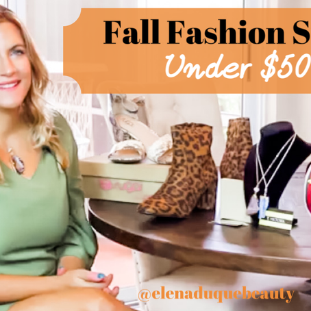 Fall Fashion That You Need Right Now, Under $50