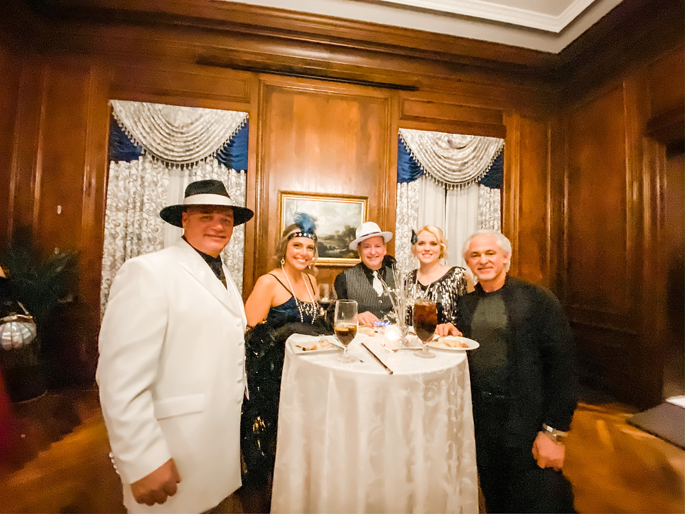 Roaring 20s Gatsby Party Costumes the Mansion at Glen Cove New Years Eve Gala