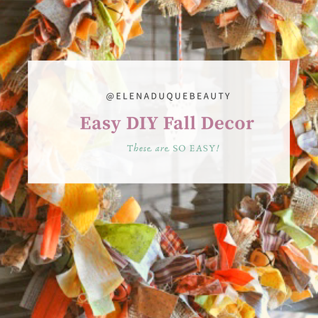 Easy & Cheap Fall Decor Ideas