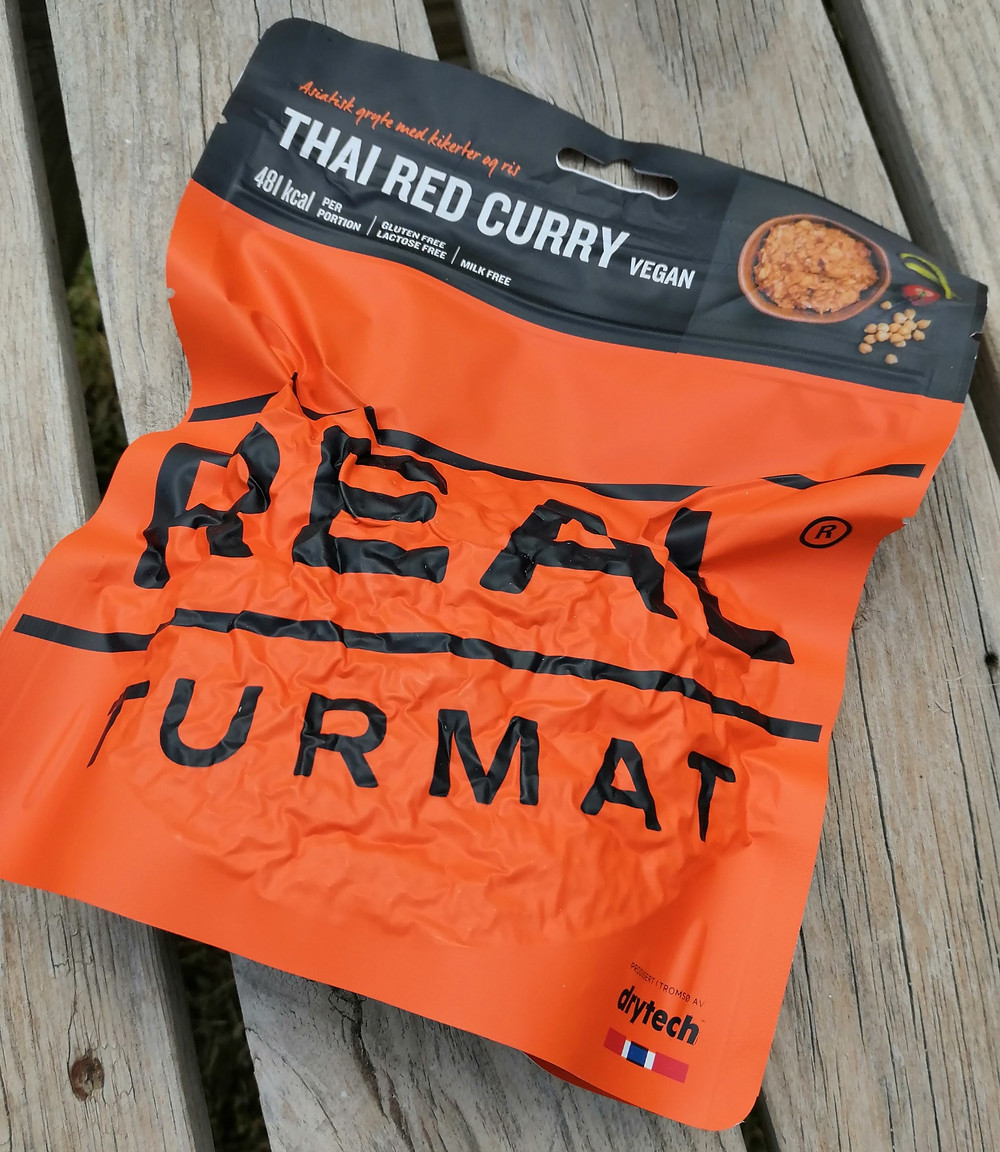Real Turmat Thai Red Curry - Vegan
