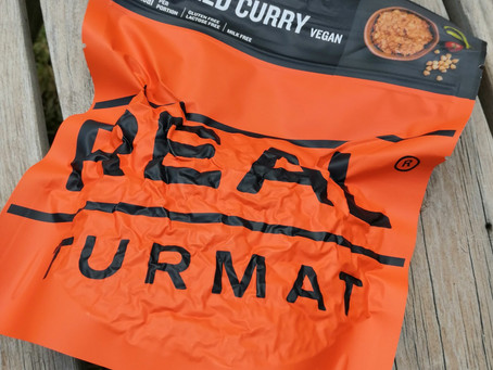 Real Turmat Review - Vegan Thai Red Curry dehydrated backpacking meal