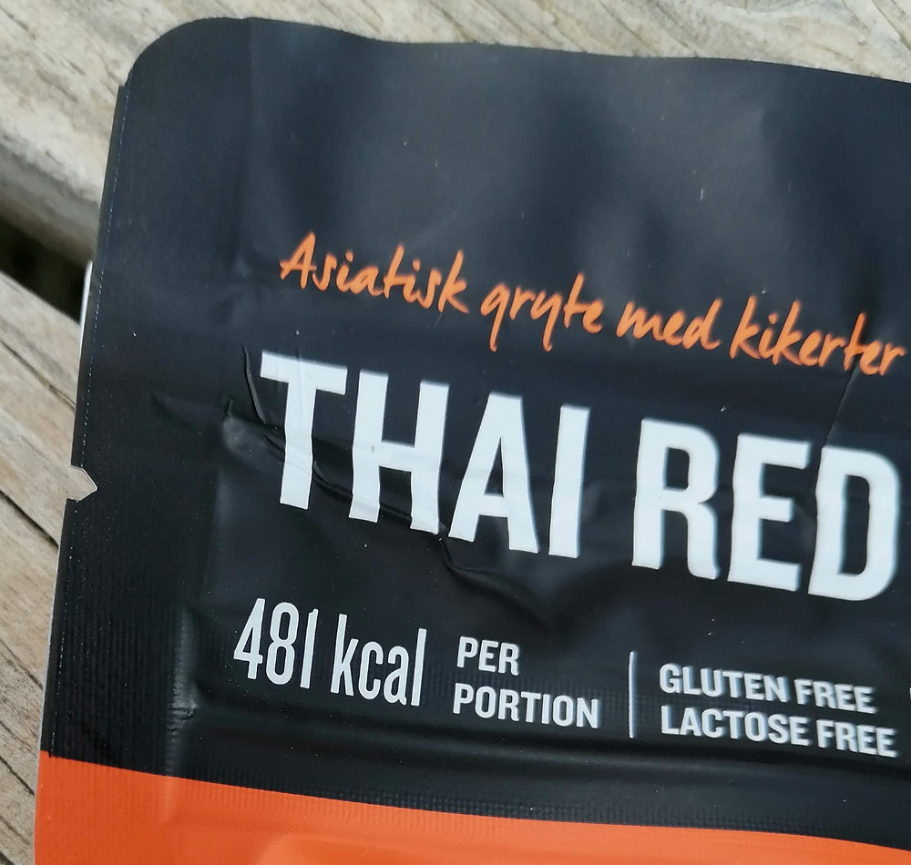 Real Turmat Thai Red Curry - Vegan - gluten free - lactose free