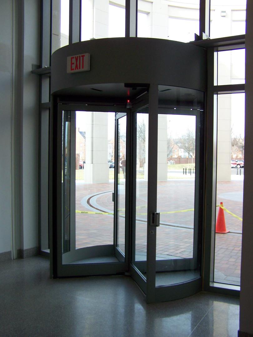 Security Door for National Defense University.JPG