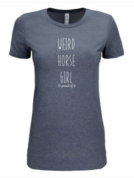 Weird Horse Girl - T-shirt