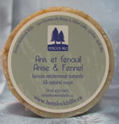 Hemlock Hills Soap Labels