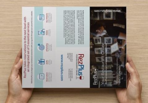 RezPlus Brochure - outside