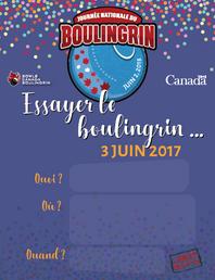 Bowls Canada - Advertising Poster