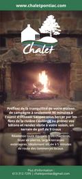 Chalet Pontiac - Rack Cards