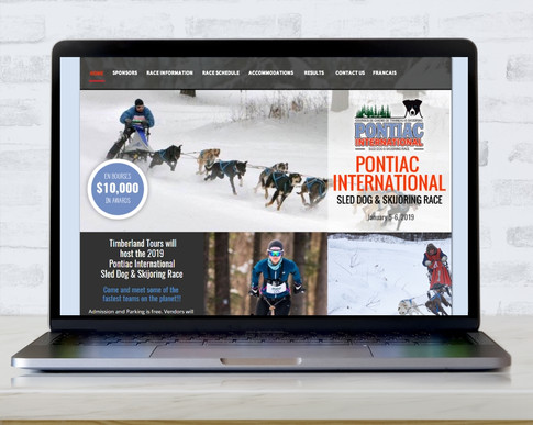 Pontiac International Sled Dog & Skijoring Race