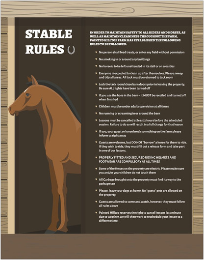 Poster - Stable Rules