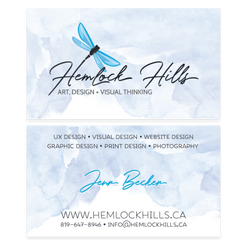 Hemlock Hills Business Card