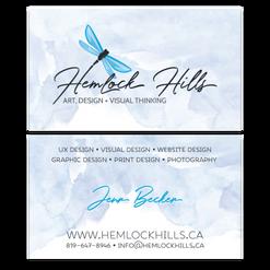 Hemlock Hills Business Card