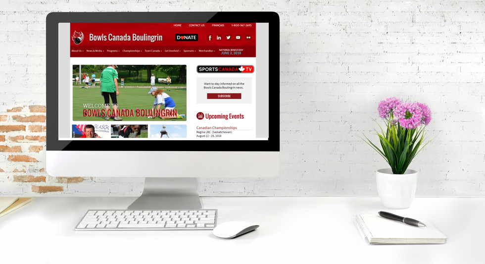 Bowls Canada Website
