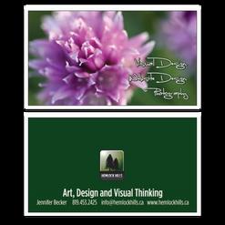 Hemlock Hills Business Cards