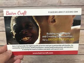Bairn Croft Residential Services - Postcard