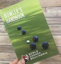 Bowls Canada - Bowler's Handbook