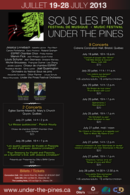 Under the Pines Poster