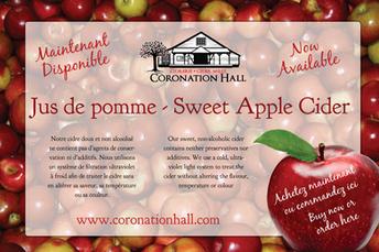 Coronation Hall Poster