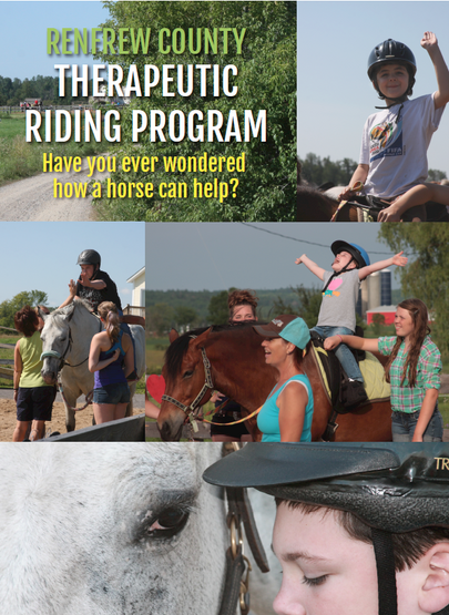 Renfrew County Therapeutic Riding Program - Poster
