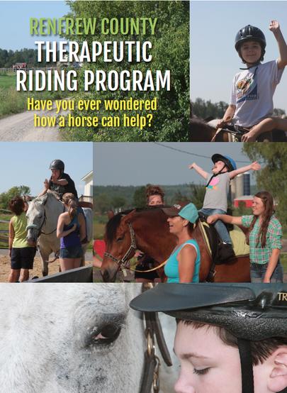 Renfrew County Therapeutic Riding Program - Poster