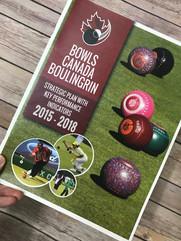 Bowls Canada - Strategic Plan
