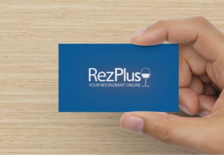 RezPlus Business Card - back