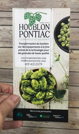 Houblon Pontiac Rack Cards