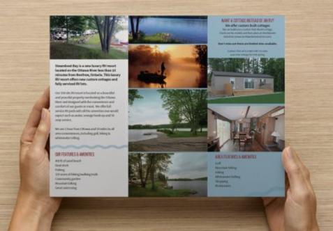 Steamboat Bay RV Brochure - inside
