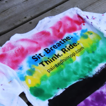 T-shirt - Hand painted