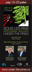 Under the Pines Rack Cards