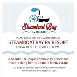 Steamboat Bay RV Resort - Ad