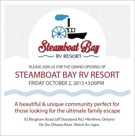 Steamboat Bay Ad - Newspaper