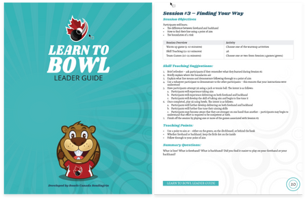 Learn to Bowl - Leader Guide (Bilingual)