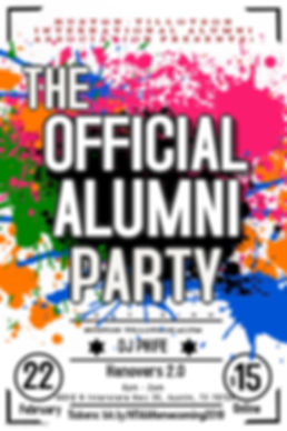 2019 ALUMNI PARTY - Made with PosterMyWa