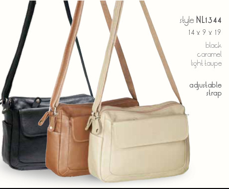 Italian Leather Bag Made By Milleni Has A Fully Adjule Strap And Two Roomy Zip Compartments With An Outer Pocket