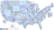 #Code Area Code Map