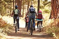 bigstock-Family-mountain-biking-on-fore-