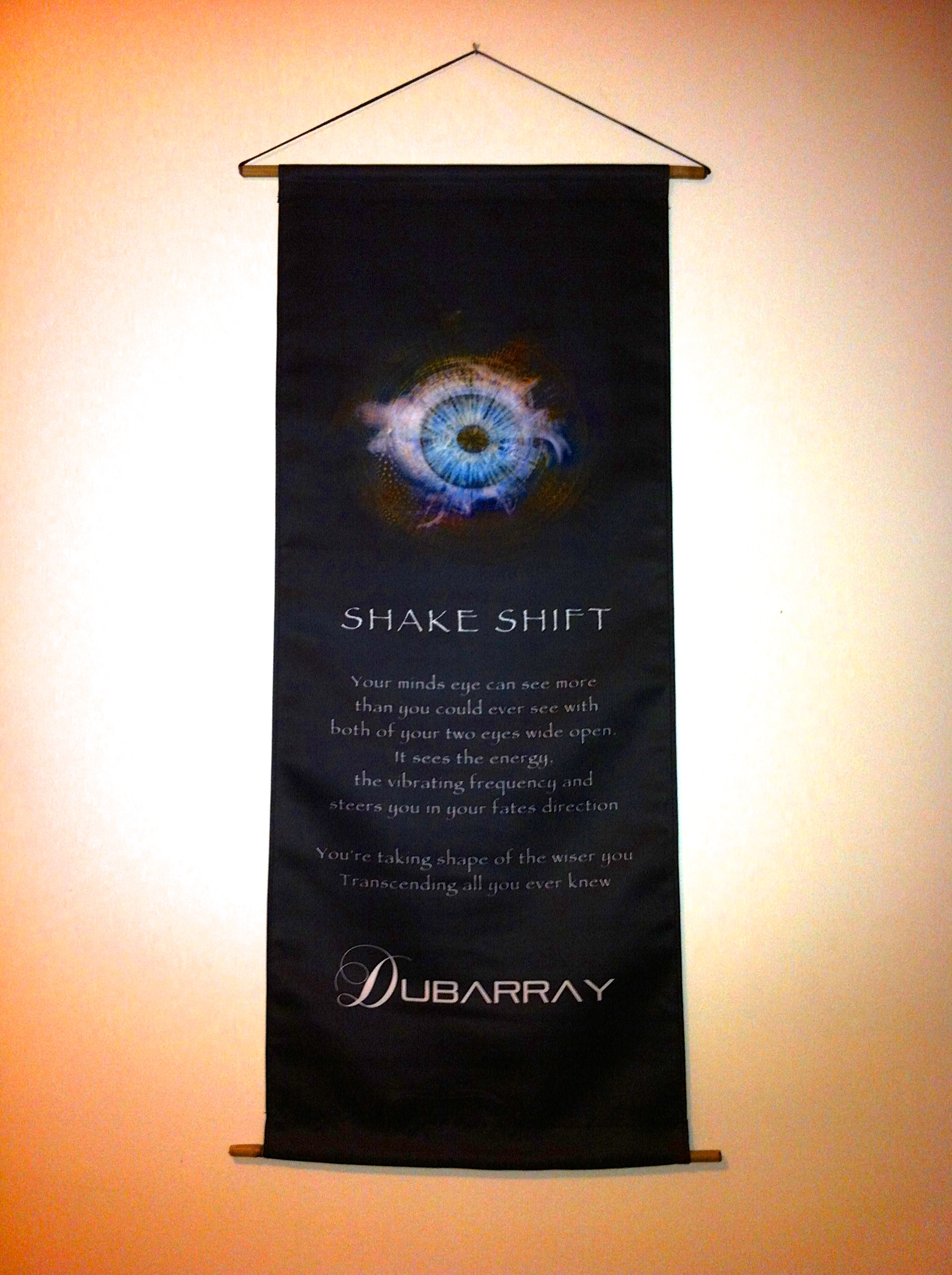 'Shake Shift' Lyric Banner