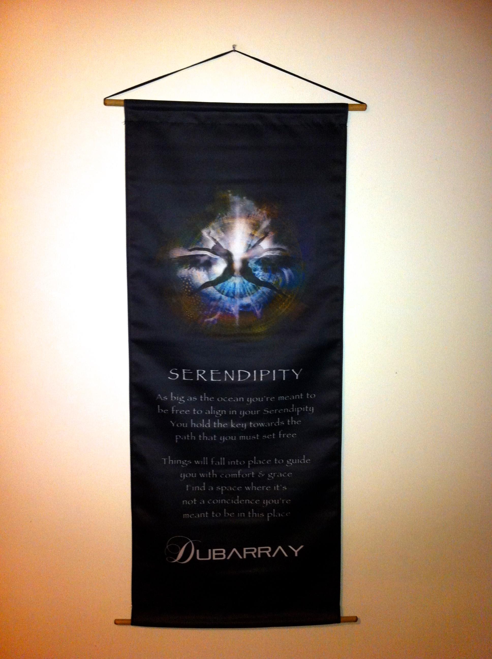 'Serendipity' Lyric Banner