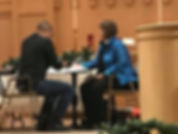 2017 Bishop Karen Oliveto being HIV test