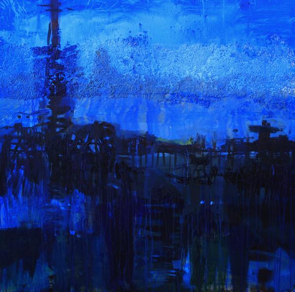 100x100cm / Mixed Media on Canvas / 2014