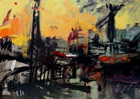 176x246cm / Acrylic on Canvas / 2013