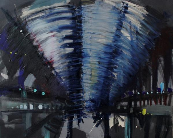 80x100cm / Acrylic on Canvas / 2014