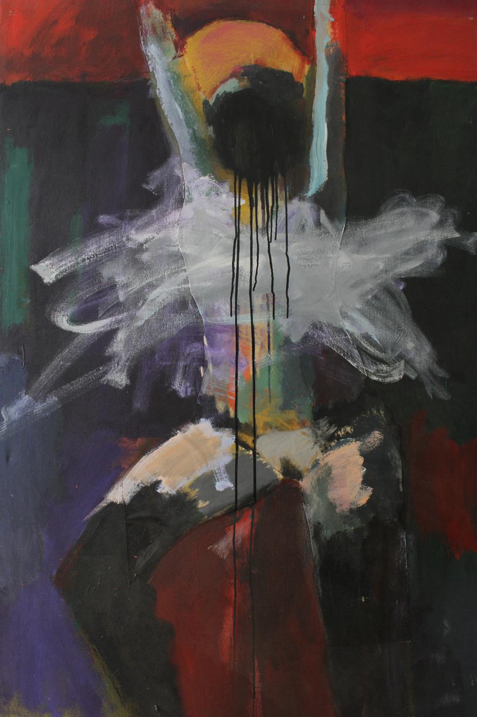 150×80cm / Mixed Media on Canvas / 2014